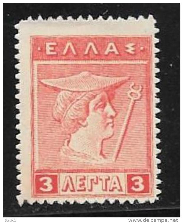 Greece, Scott # 216 Mint Hinged Hermes, 1913 - Unused Stamps