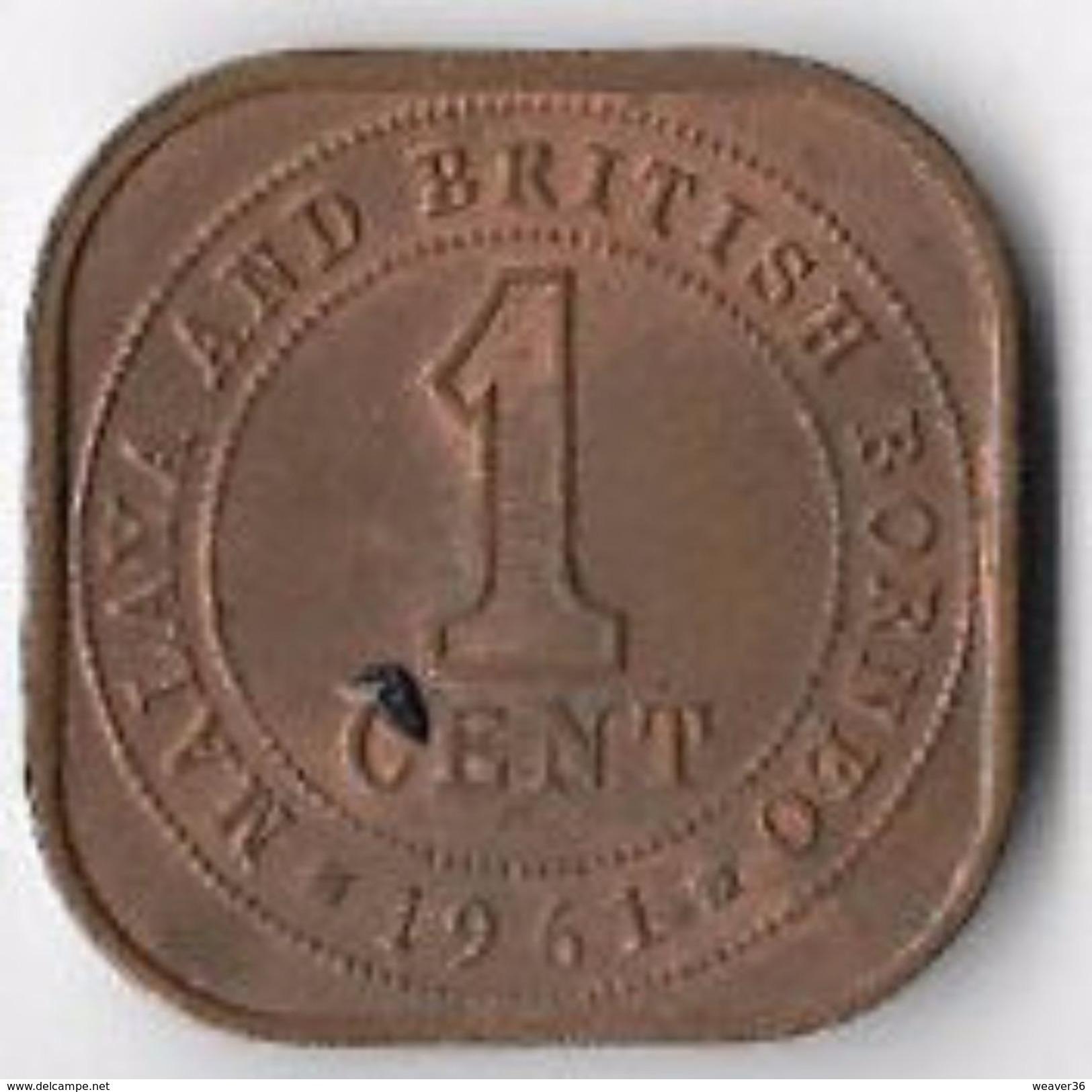 Malaya And British Borneo 1961 1 Cent [C547/2D] - Coins