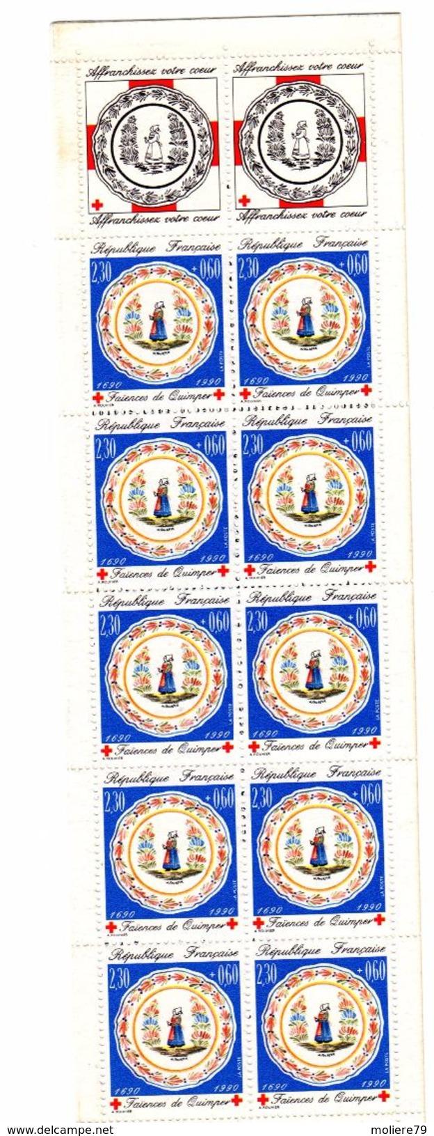Carnet Croix Rouge   N°  2039 De 1990 - Carnets