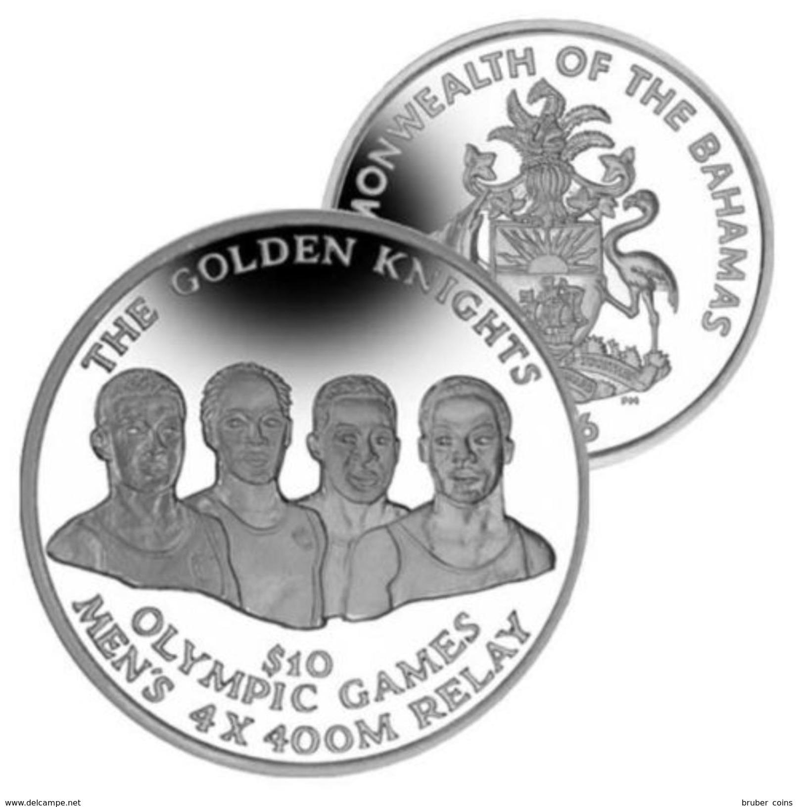 BAHAMAS 2016  1 DOLLARO VINCITORI OLIMPICI UNC - Bahamas
