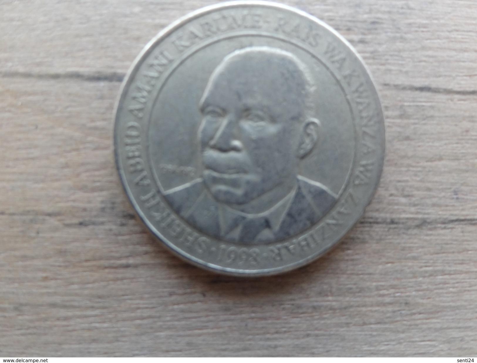 Tanzanie  200  Shilingi  1998  Km 34 - Tanzanie