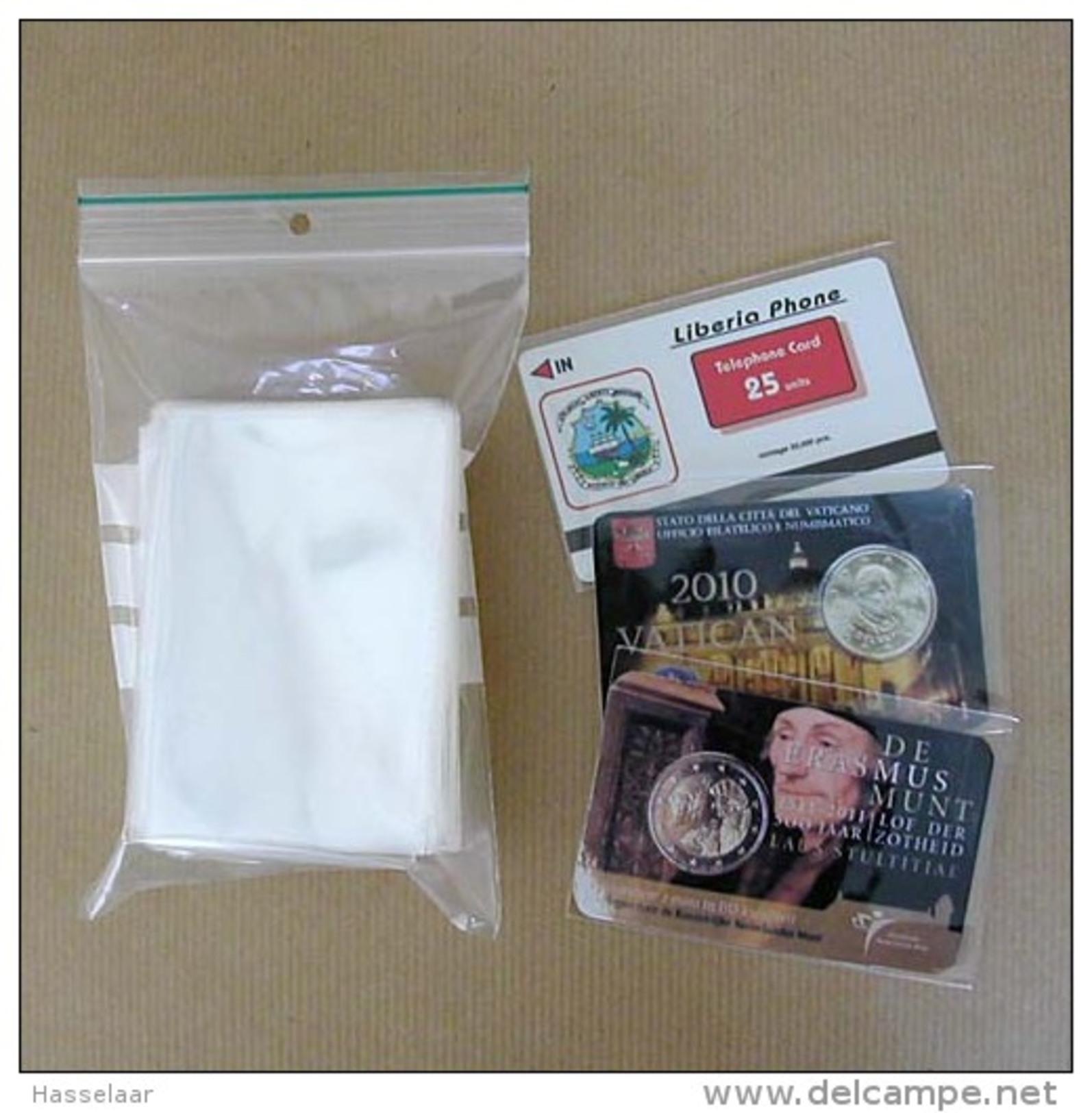 1 Kilo Hoesjes Voor Telekaarten, Coincards - Pochettes Pour Telecartes - Télécartes