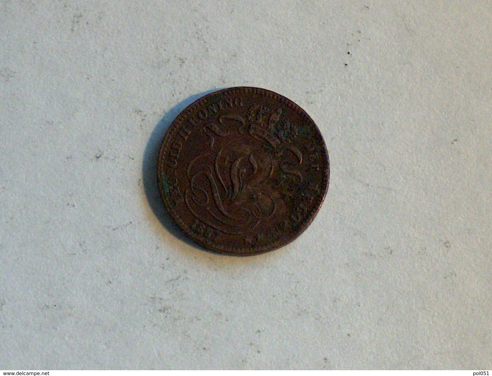 Belgique 1 Cent 1887 Centime - 1865-1909: Leopold II