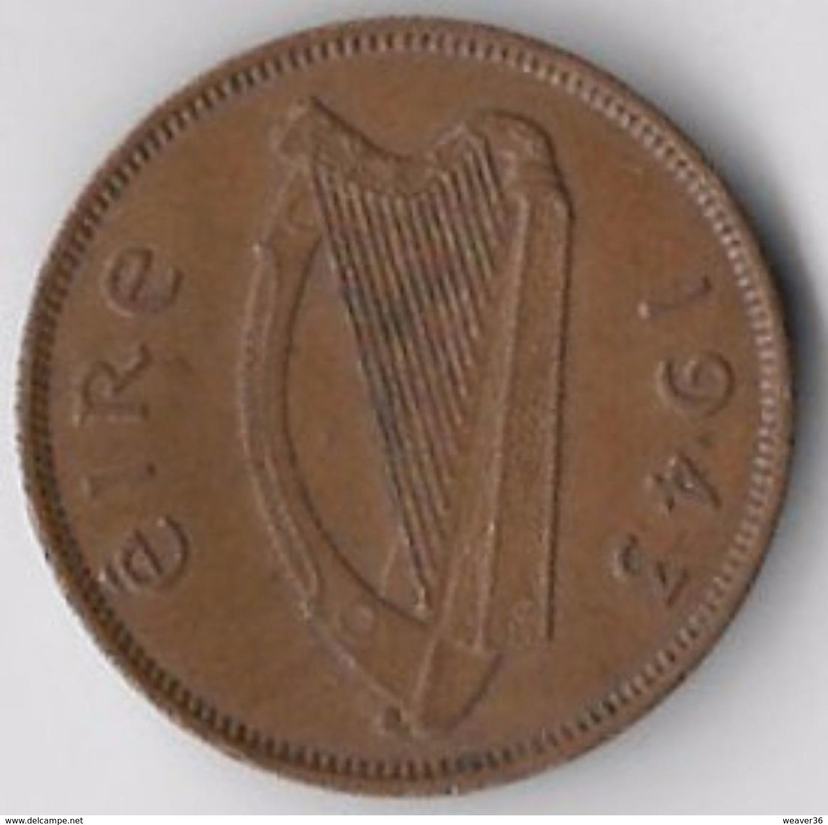 Ireland 1943 ½d [C558/2DF] - Ireland