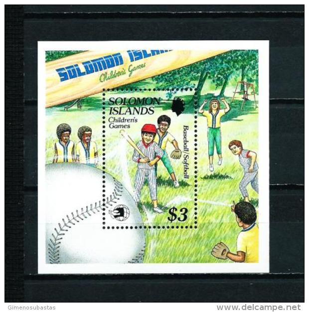 Islas Salomón  Nº Yvert  HB-27  En Nuevo - Islas Salomón (1978-...)