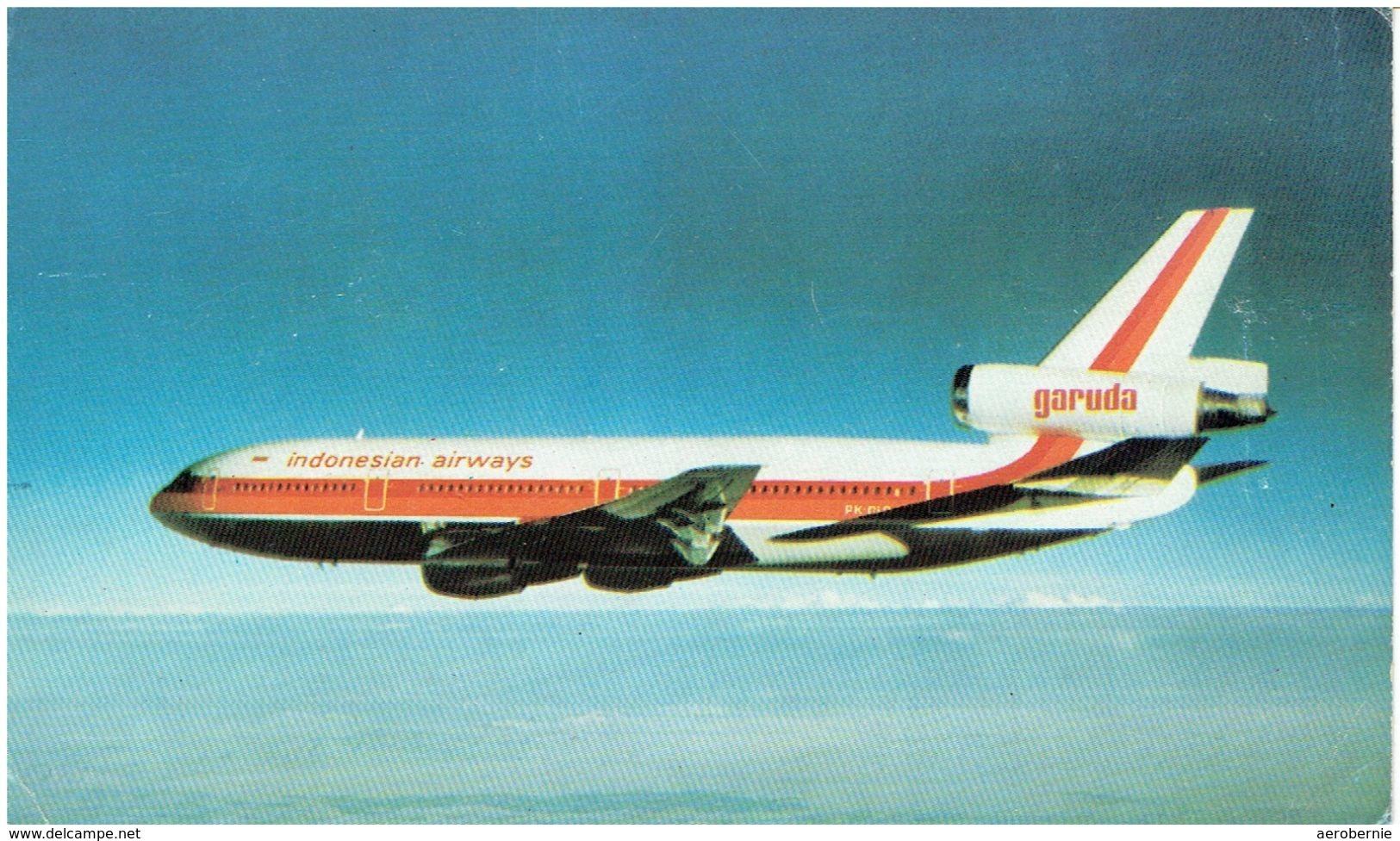 GARUDA Indonesian Airways / Douglas DC-10 (Airline Issue) - 1946-....: Moderne