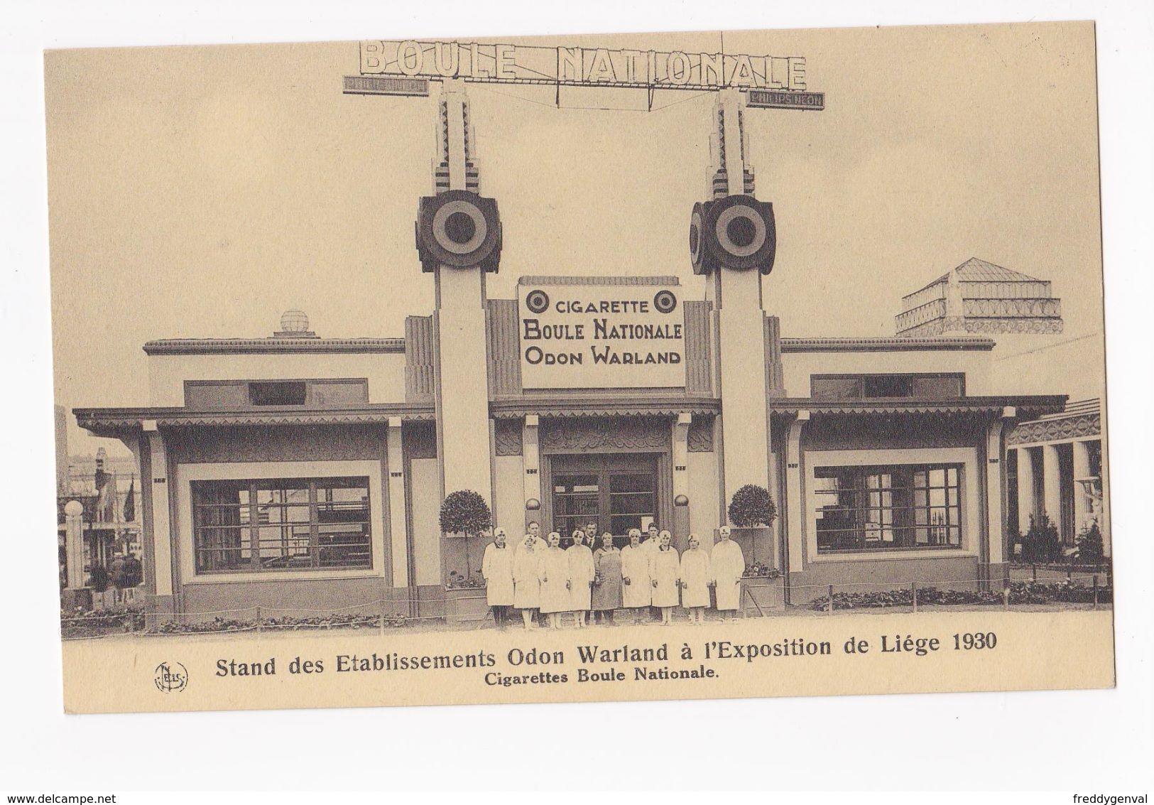LIEGE EXPO 1930 ODON WARLAND - Liege