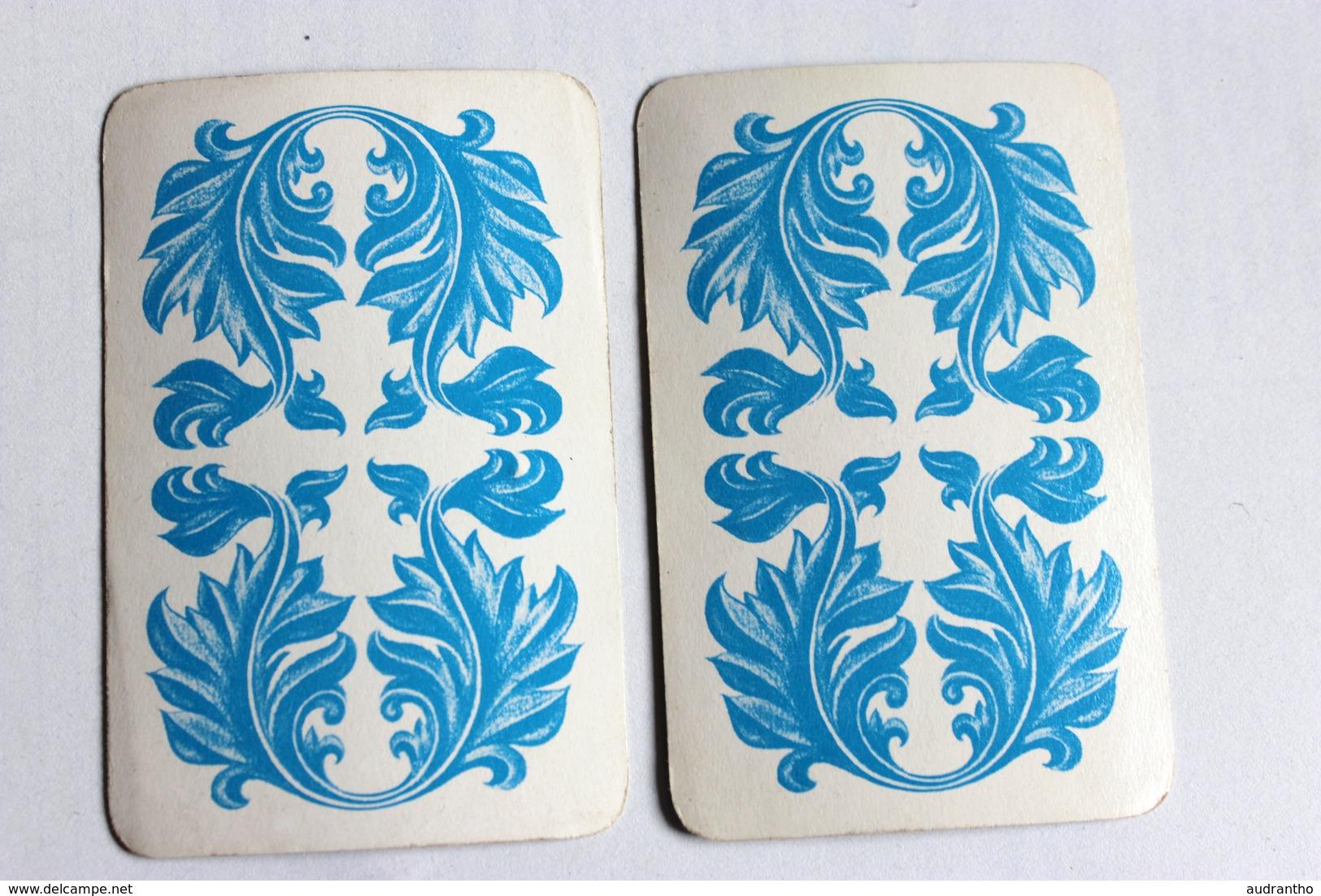 2 Cartes à Jouer érotique Vintage Dame Pin Up Nue - Cartes à Jouer