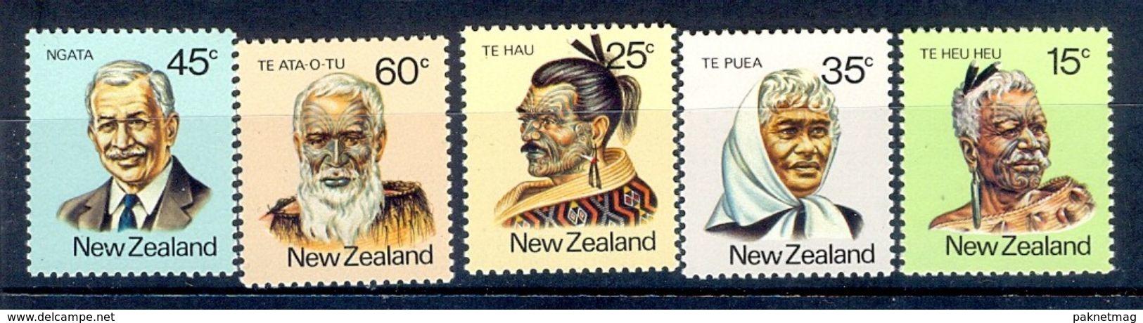 S226- New Zealand 1980 Famous Maori People. - New Zealand