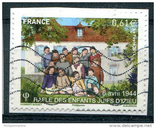 France 2014 - YT 4852 (o) Sur Fragment - Usati