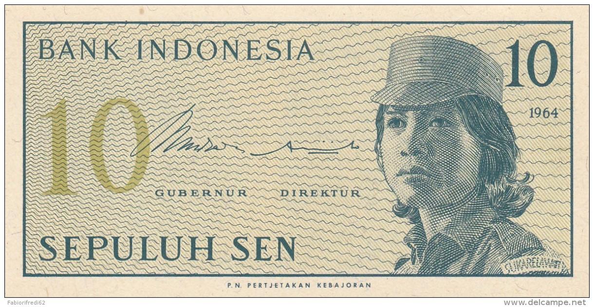 INDONESIA 10 SEN -UNC - Indonésie