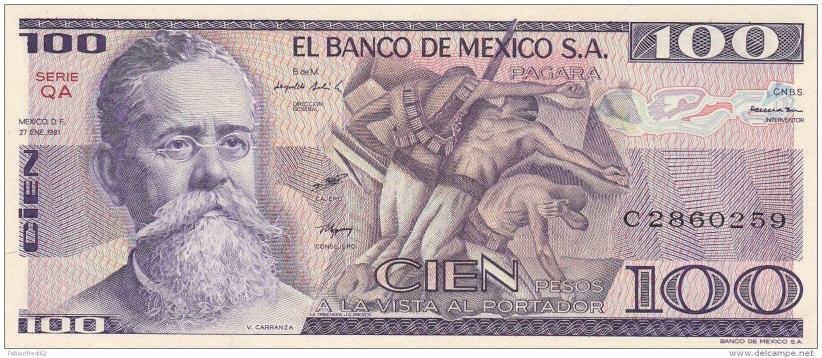 MESSICO 100 PESOS -UNC - Mexique