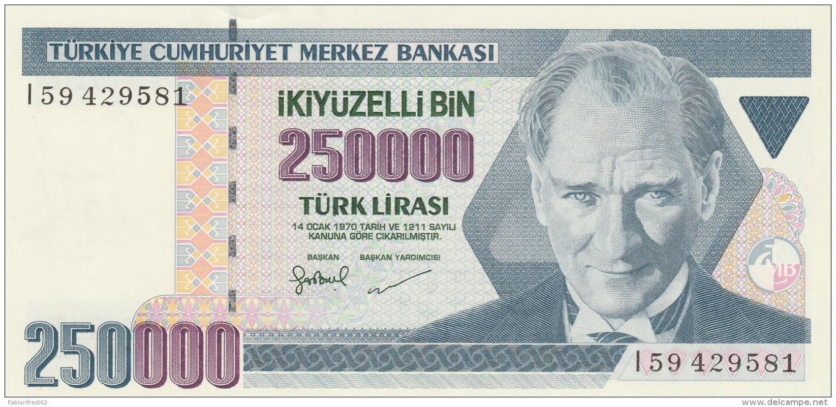 TURCHIA 250000 LIRAS -UNC - Turchia