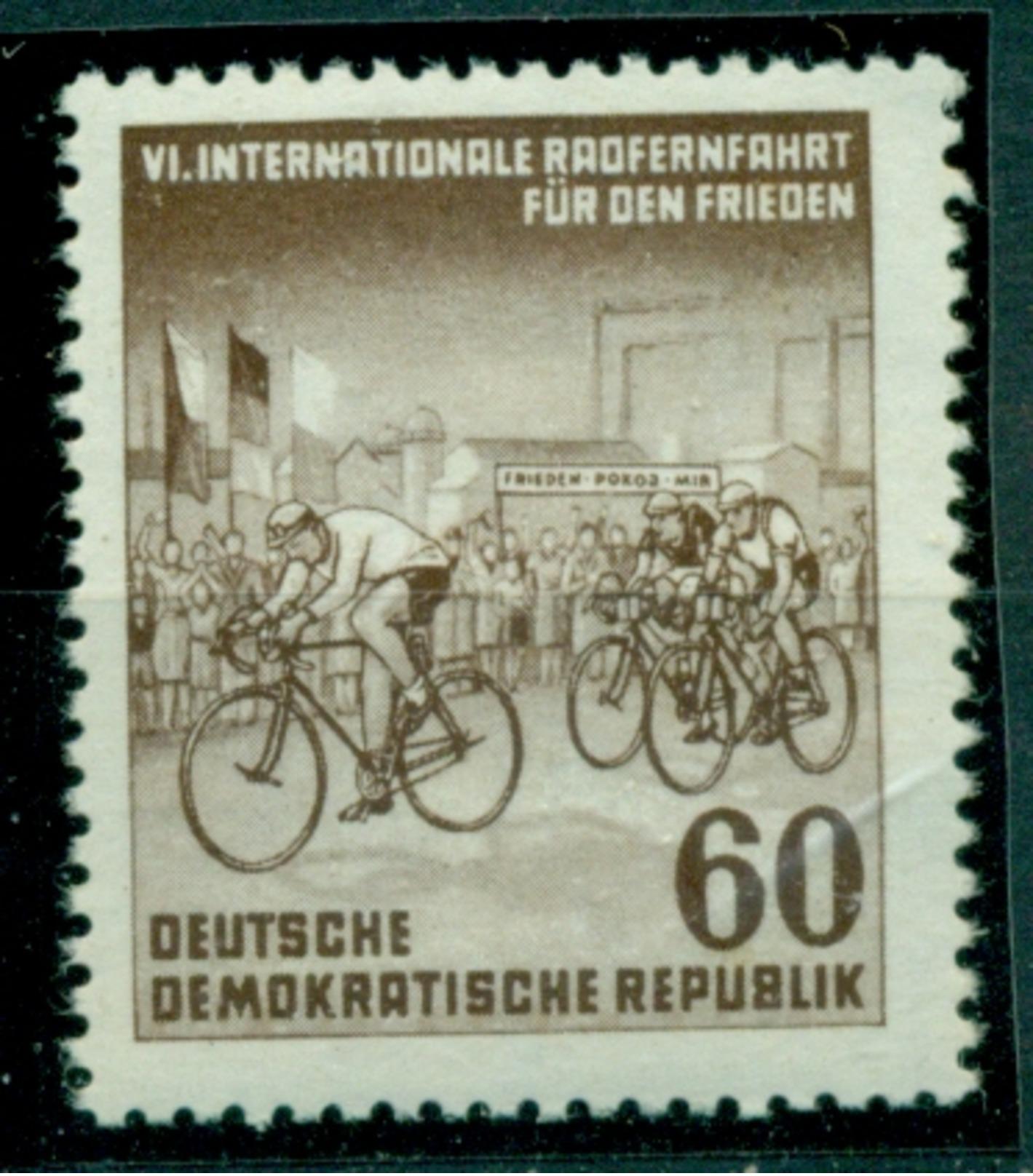 DDR. Friedensfahrt, Nr. 357 Postfrisch ** PF I Geprüft BPP - Ungebraucht
