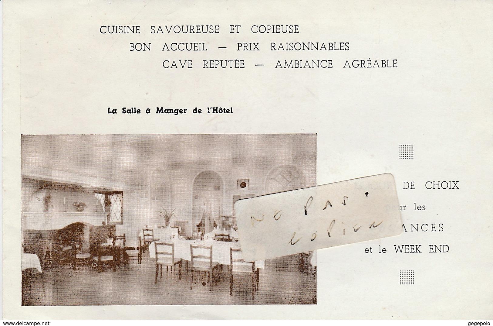 83 - LE DRAMONT - Hôtel  Du Débarquement -  Dépliant De 4 Pages  ( 15 Cm X 9,8 Cm ) - Dépliants Turistici