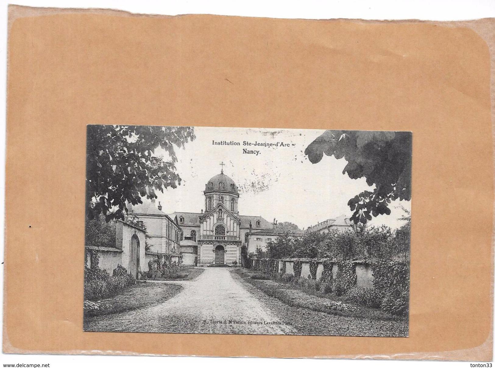 NANCY - 54 -  Institution Sainte Jeanne D'Arc - L'entrée - LYO - - Nancy