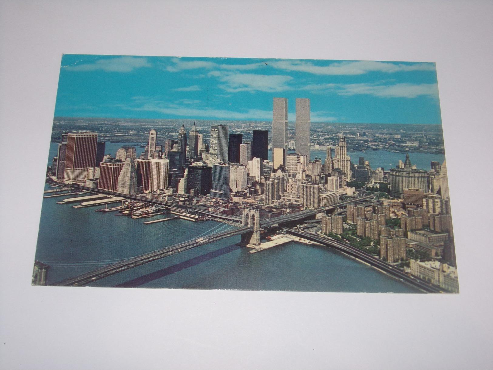 New York.Aérial Of Lower Manhattan. - Manhattan
