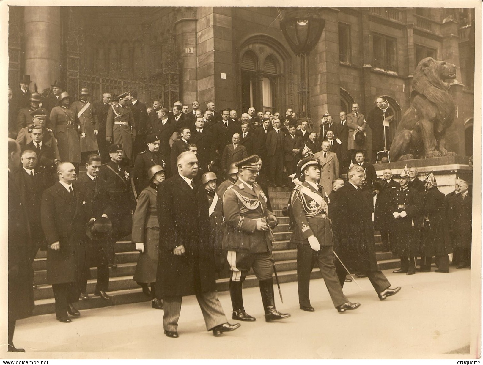 GOERING A BUDAPEST EN 1936 - War, Military