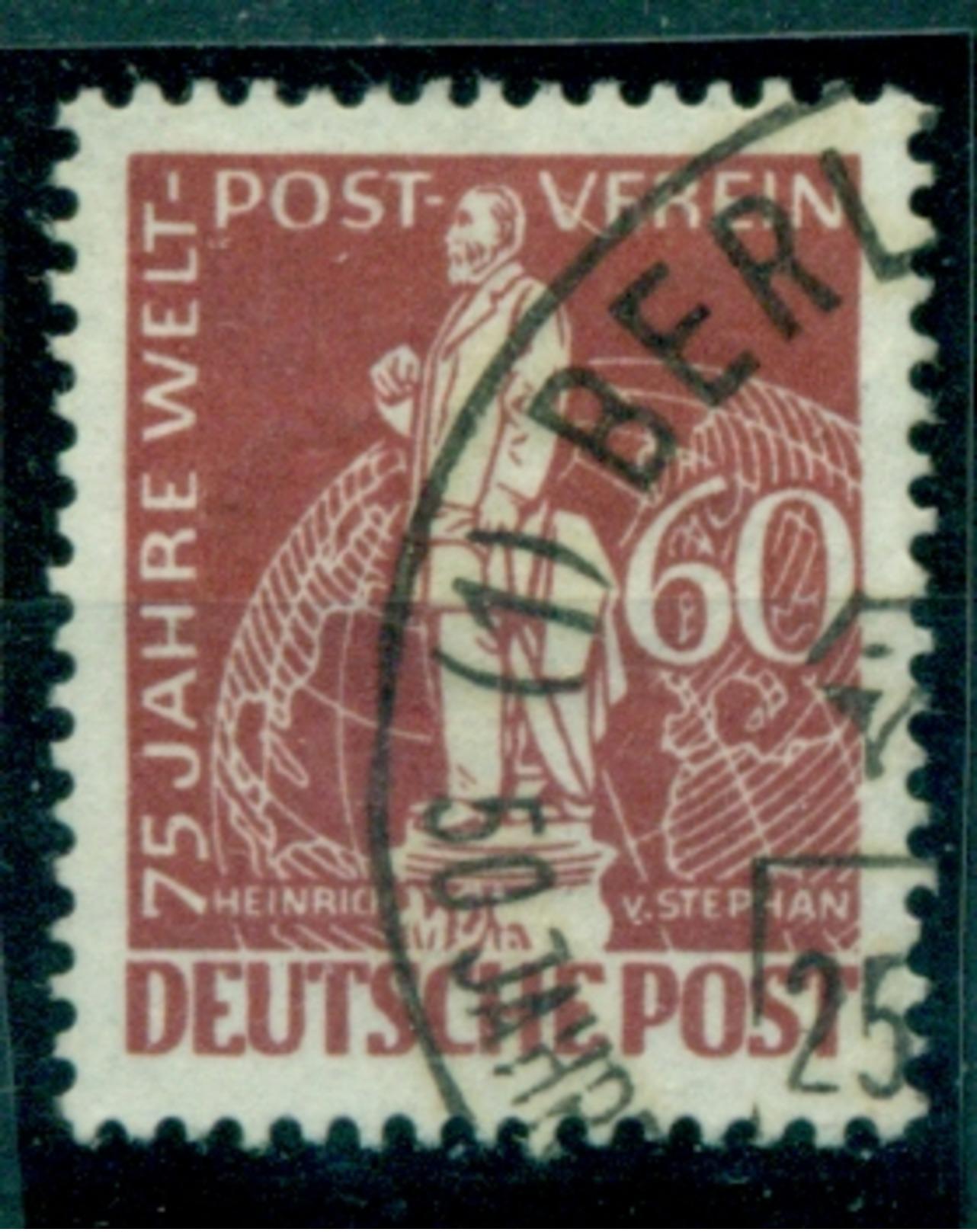 Berlin. 75 Jahre Weltpostverein Nr. 39 Gestempelt - Berlin (West)