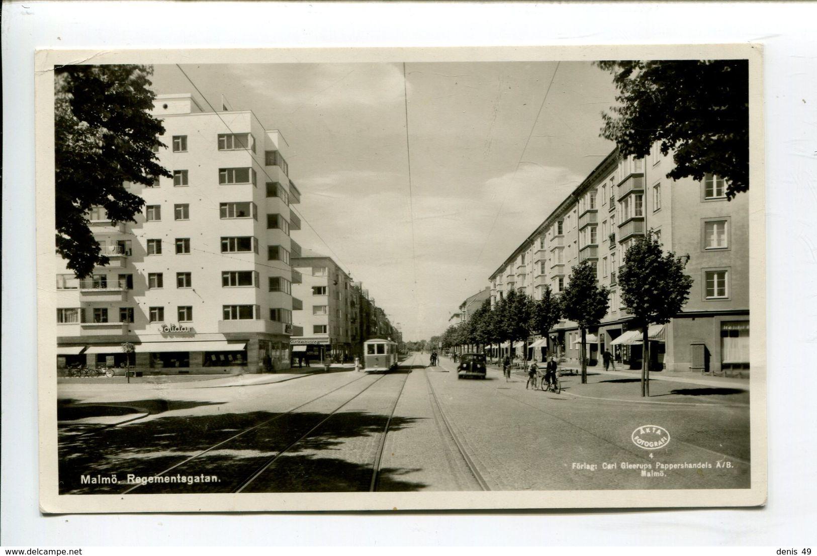 Malmö Regementagatan - Zweden