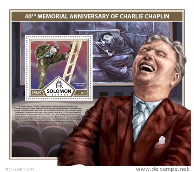 SOLOMON ISLANDS 2017 Charlie Chaplin - Solomon Islands (1978-...)