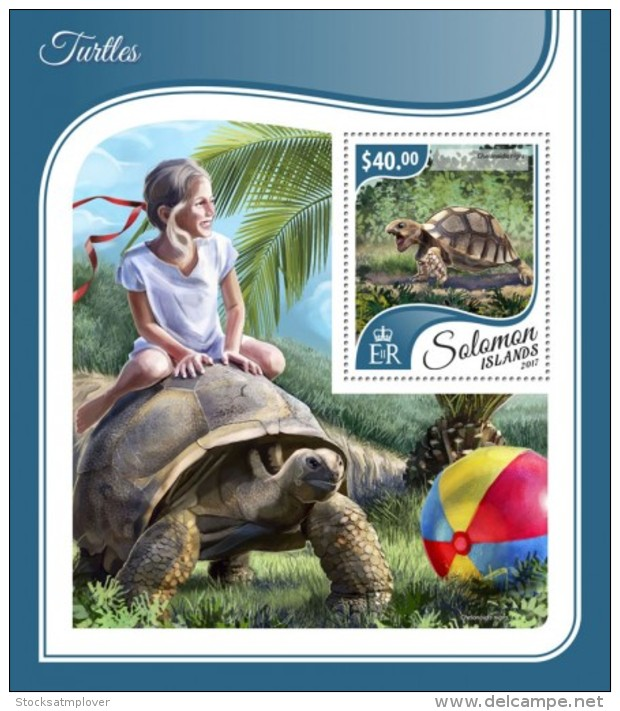 SOLOMON ISLANDS 2017 Turtles - Solomon Islands (1978-...)
