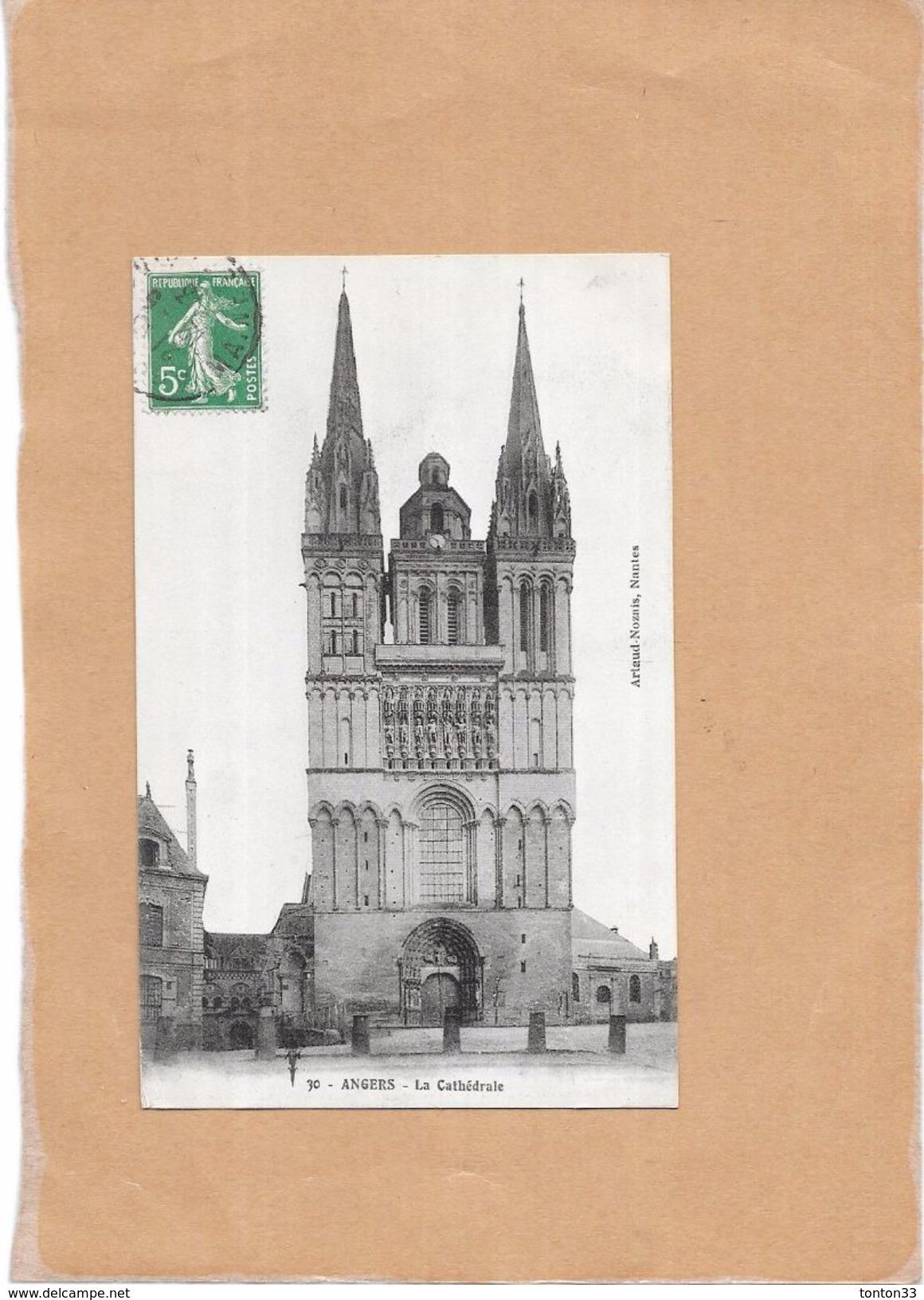 ANGERS - 49 - La Cathédrale  - LYO1 - - Angers