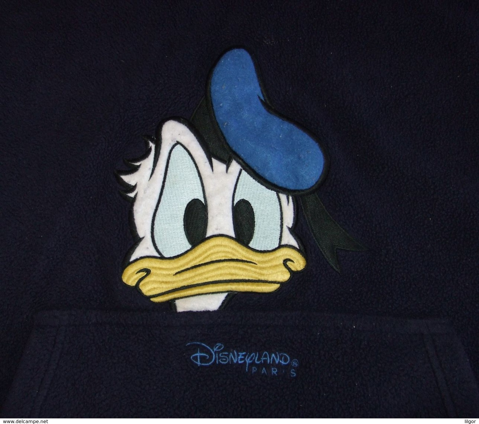 LOT Of DISNEYLAND PARIS DONALD DUCK WARM HOODY & MICKEY MOUSE HAT, Size 14/15 (Eur) - Zonder Classificatie