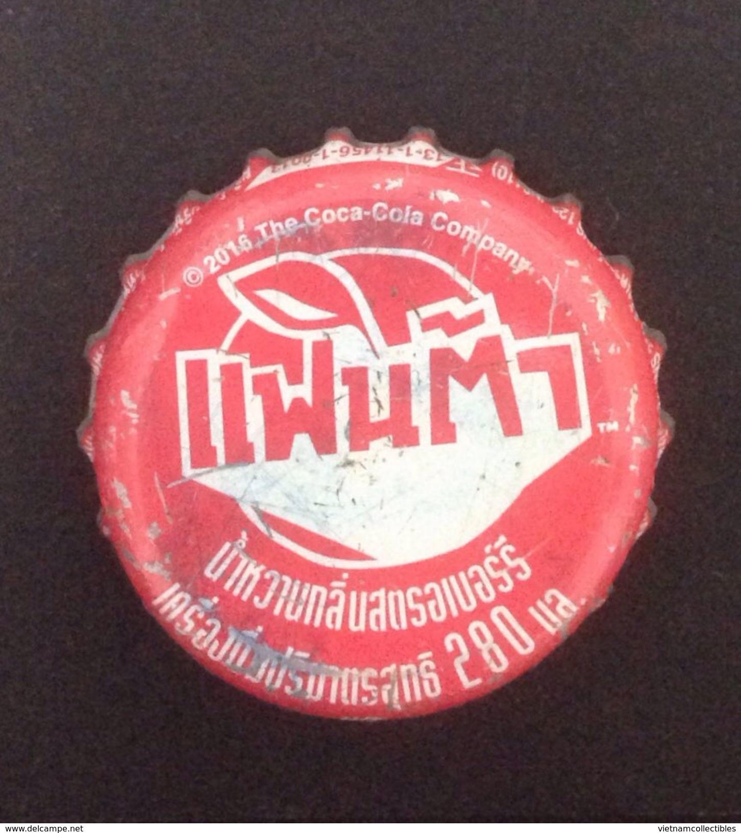 Thailand Used Bottle Crown Cap / Kronkorken / Capsule / Chapa / Tappi - Casquettes