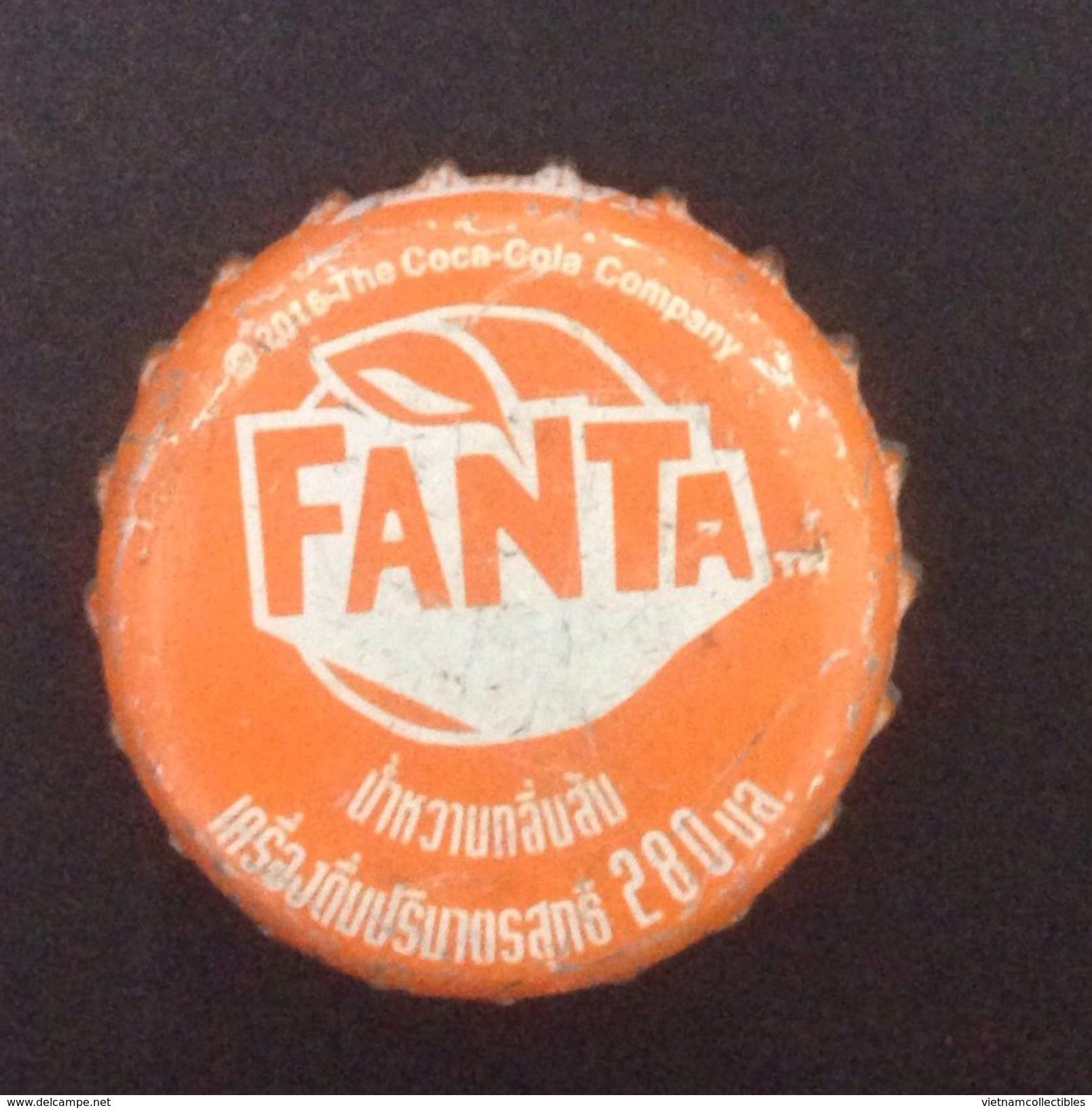 Thailand Coca Cola FANTA Used Bottle Crown Cap / Kronkorken / Capsule / Chapa / Tappi - Casquettes