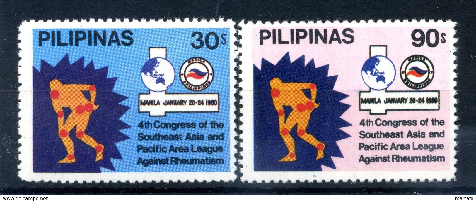 1980 FILIPPINE SERIE COMPLETA MNH ** - Filippine