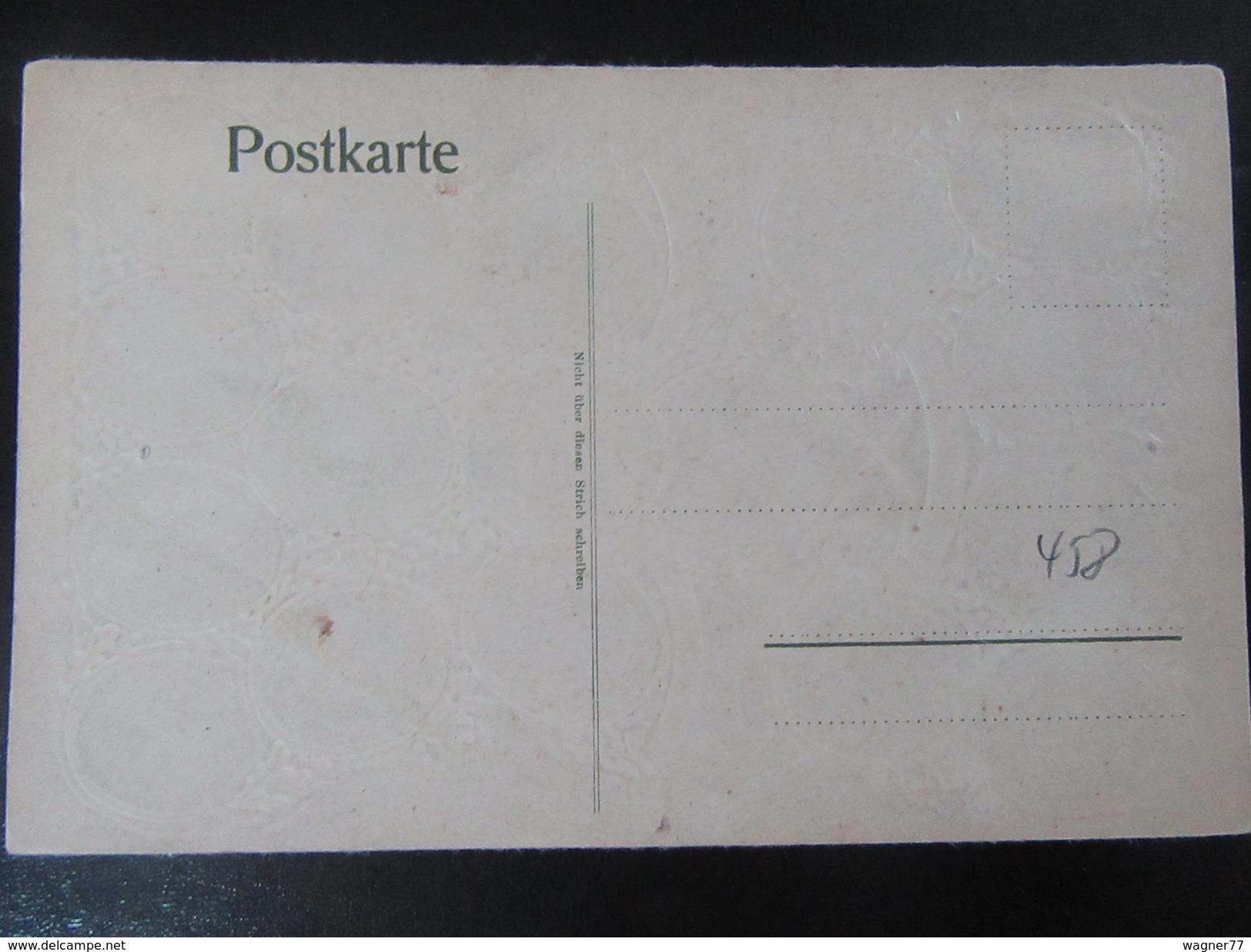 Postkarte Prägekarte Hohenstaufen Um 1920 - Historische Persönlichkeiten