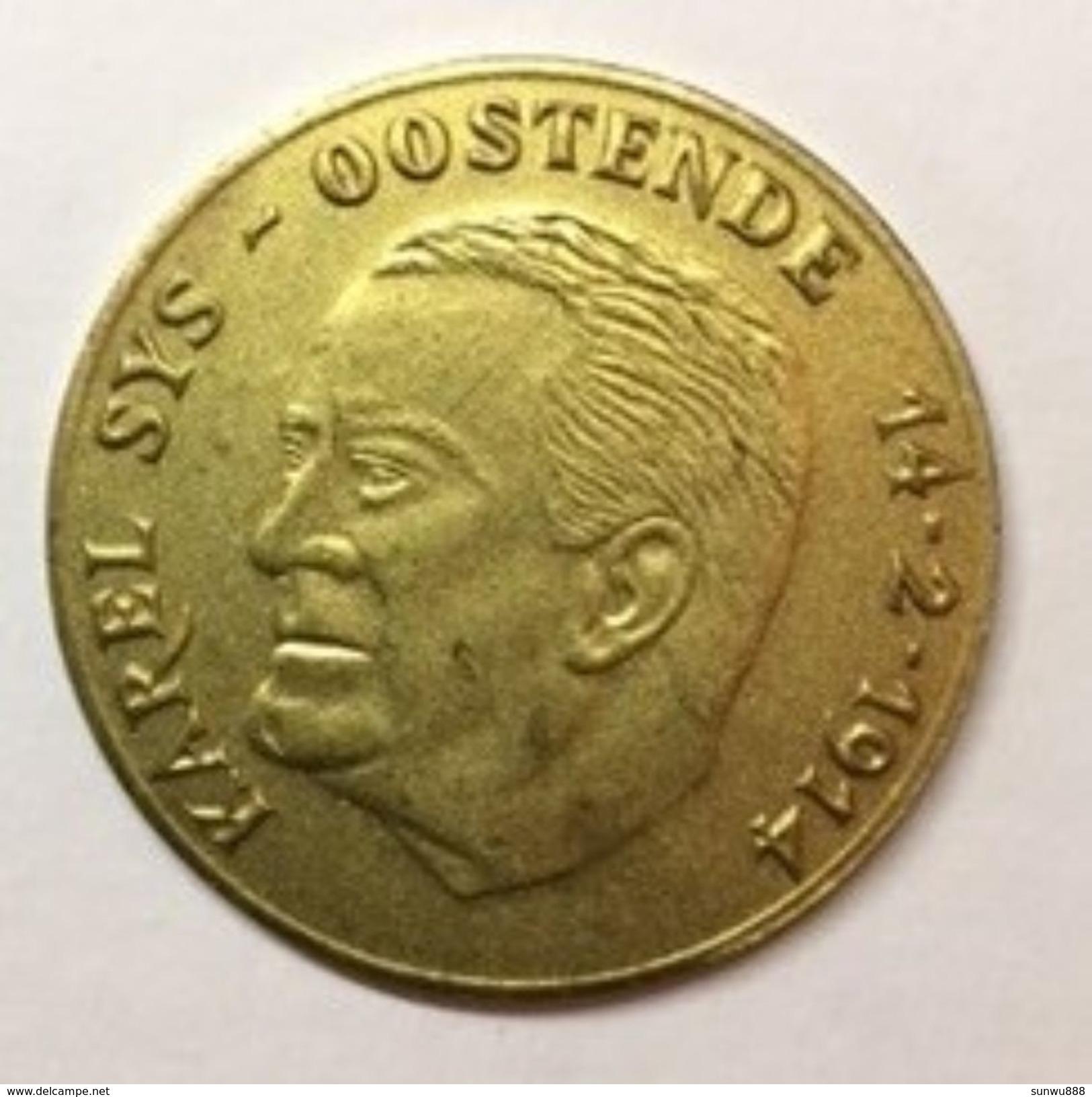 Karel Sys Oostende 1830-1980 - Jetons De Communes