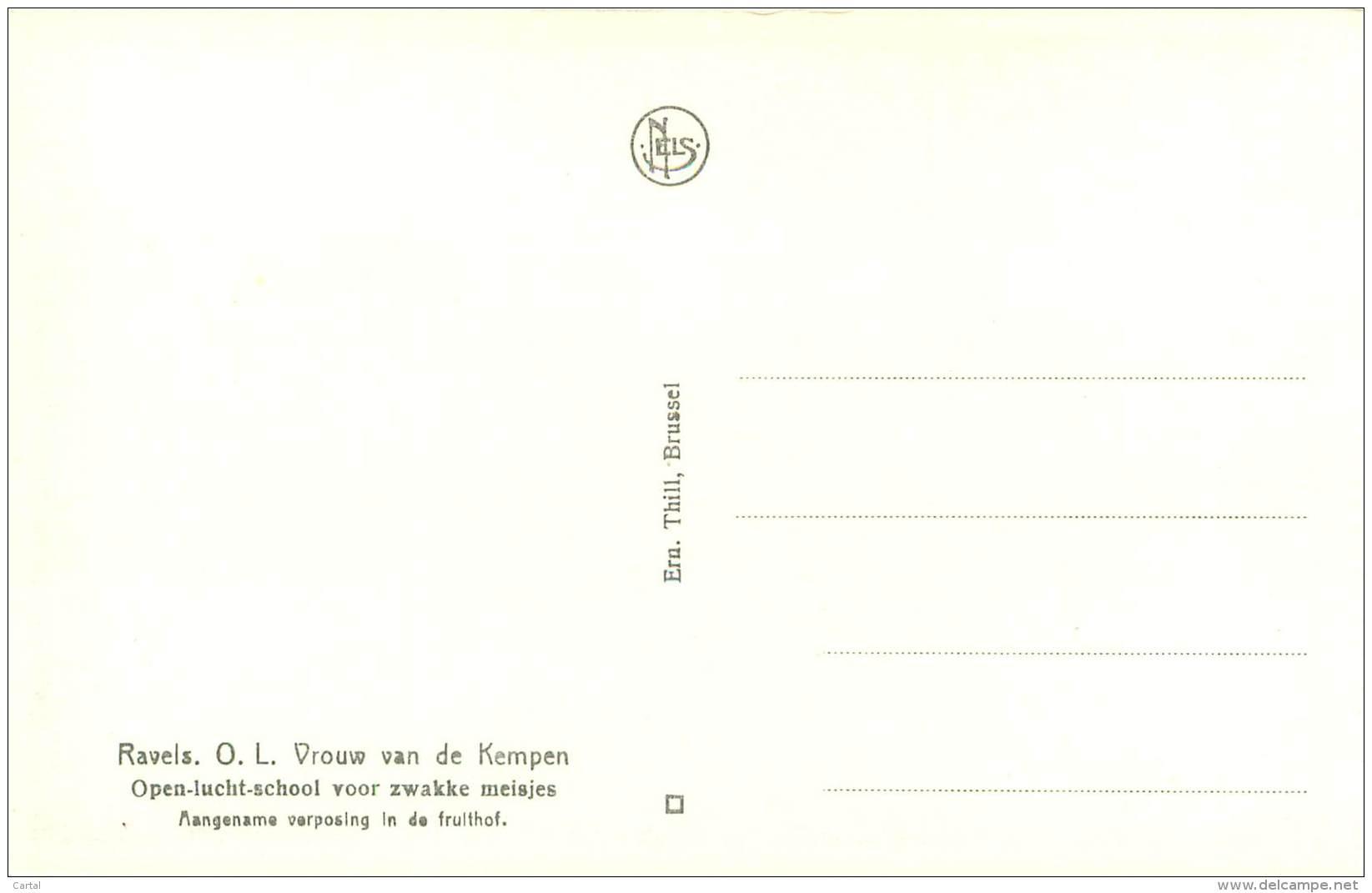 RAVELS - O.L. Vrouw Van De Kempen - Aangename Verposing In De Fruithof - Ravels