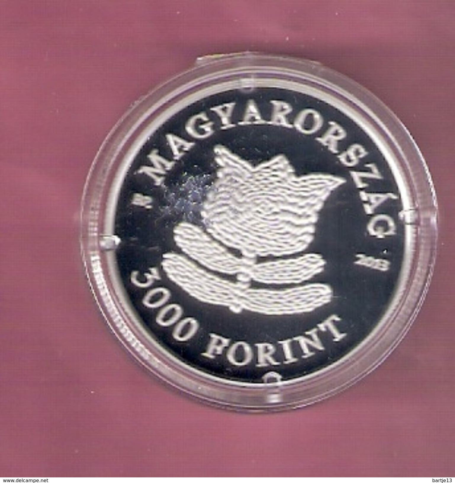 HONGARIJE 3000 FORINT 2013 SILVER PROOF TRADITIONAL DANCE - SCRATCHES ONLY ON CAPSEL; - Hongrie