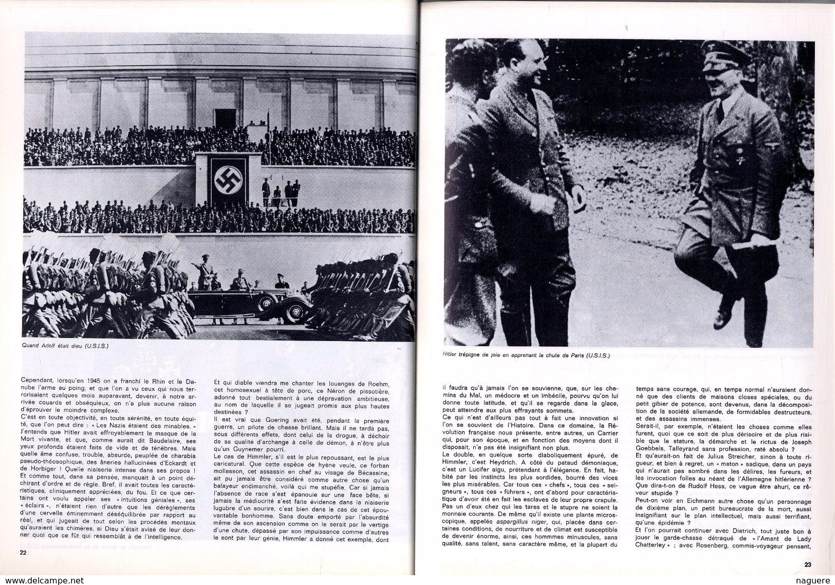 PAN !   N° 3  LES NAZIS 1971   -  80  PAGES  - - Histoire