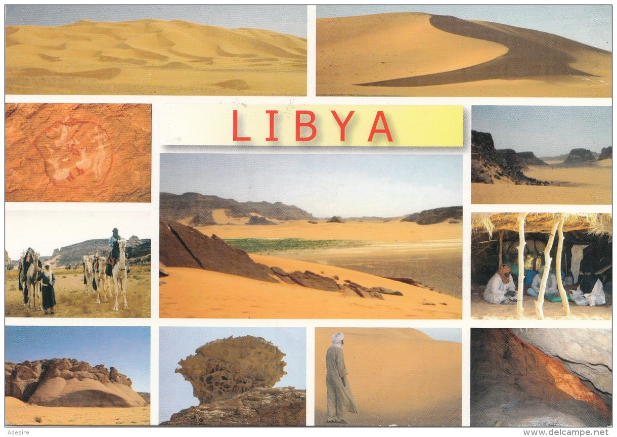LIBYA - 2 Beautiful Special Stamp - Libyen