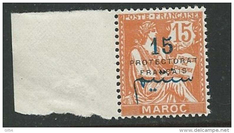 Maroc - Yvert N° 42 **   Bdf-   Bce9804 - Morocco (1891-1956)