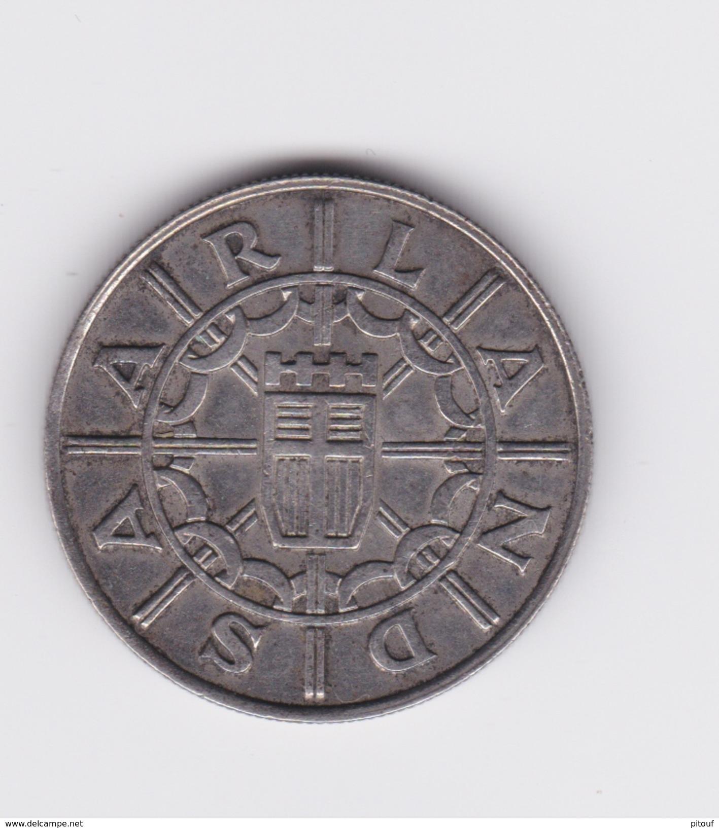 100 Franken 1955 Sarre  TTB à SUP - Saar