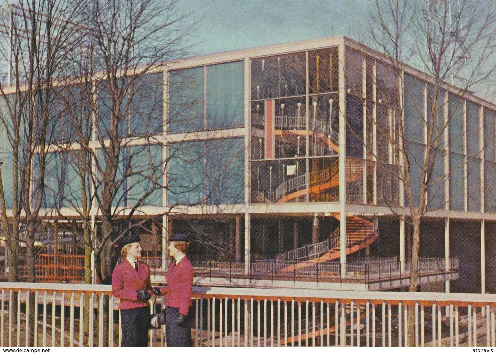 Bruxelles Expo 58 - Le Pavillon Du Canada. - Universal Exhibitions