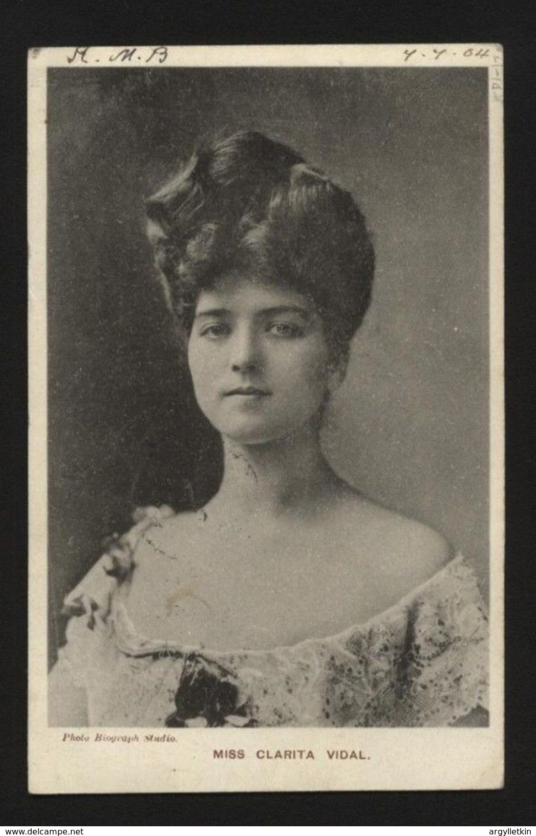 "GB 1904 ""MIDDAY-MAIL-DOWN- NORTHERN RAILWAY POSTCARD - Postmark Collection"