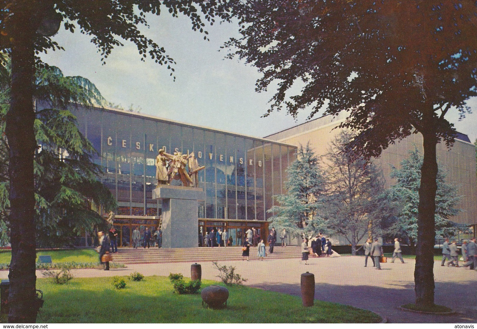 Bruxelles Expo 58 - Pavillon De Tchécoslovaquie. - Wereldtentoonstellingen