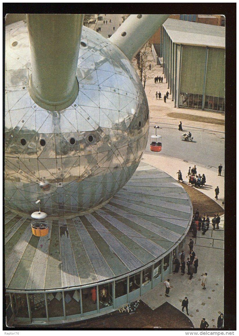 CPM Non écrite Belgique BRUXELLES L'Atomium L'Entrée - Bruxelles-ville