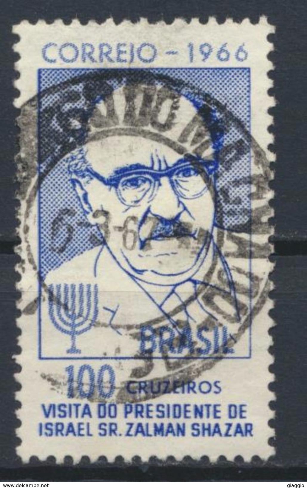 °°° BRASIL - Y&T N°800 - 1966 °°° - Oblitérés