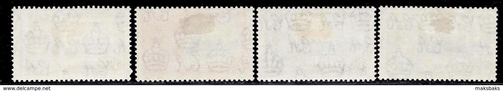 Grenada 1935 Silver Jubilee MH Set SG 145/148 Cat £18 - Grenada (...-1974)