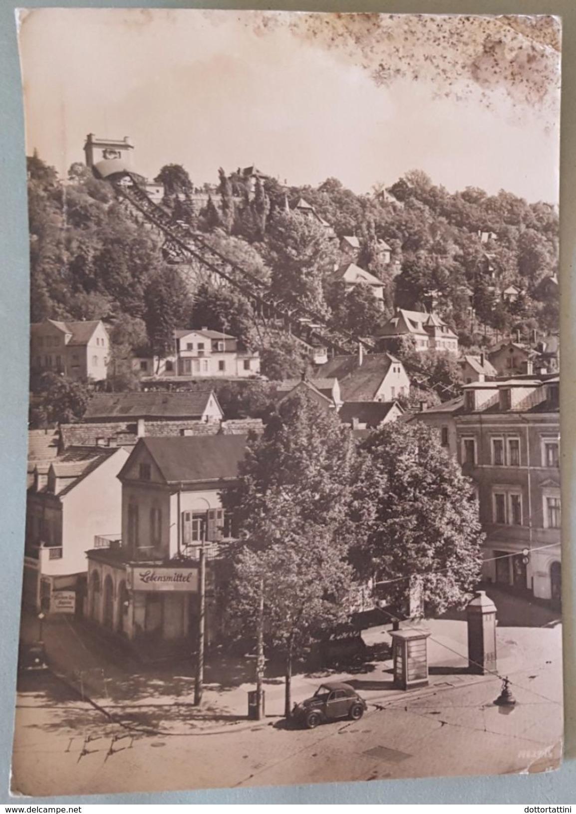DRESDEN - Loschwitz - Kornerplatz Mit Schwebebahn - Standseilbahn - Nv - Dresden