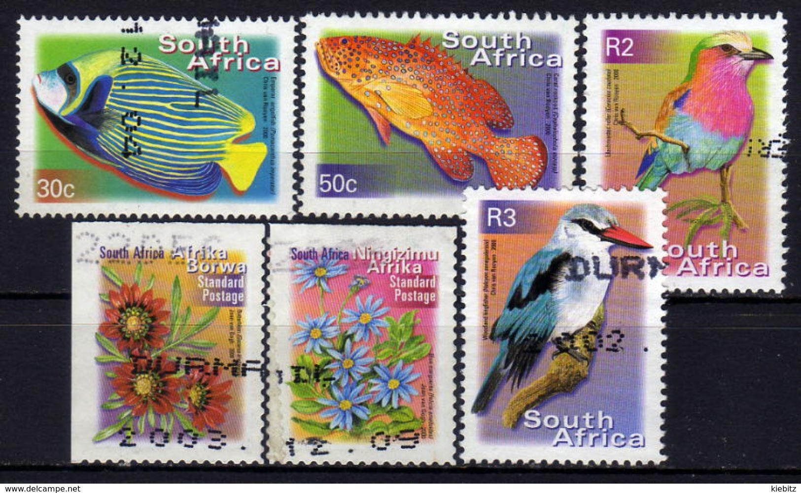 SÜDAFRIKA Lot  Jahr 2000  Used - Südafrika (1961-...)
