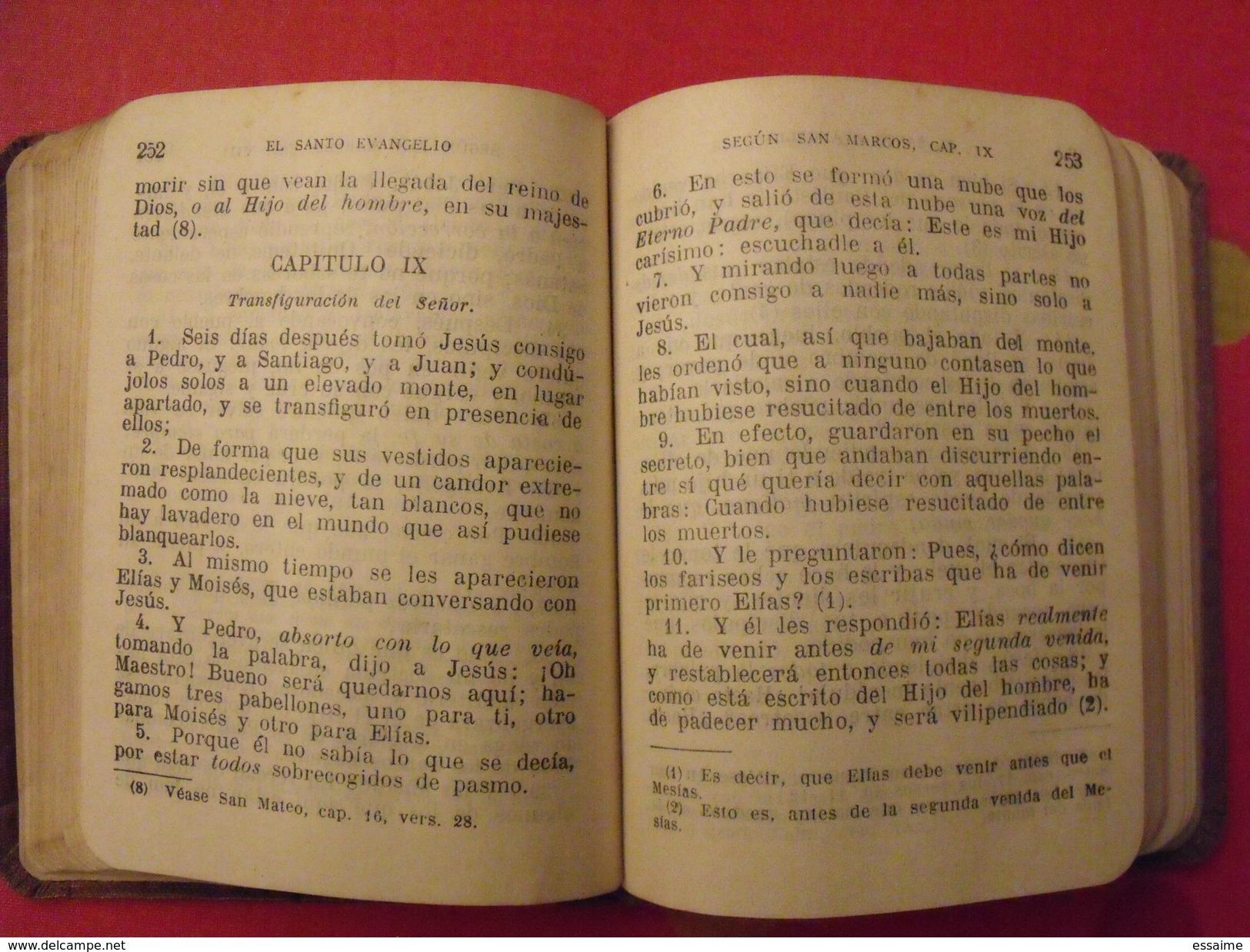 Los Cuatro Evangelios De Nuestro Senor Jesucristo. 1927 - Philosophie & Religion