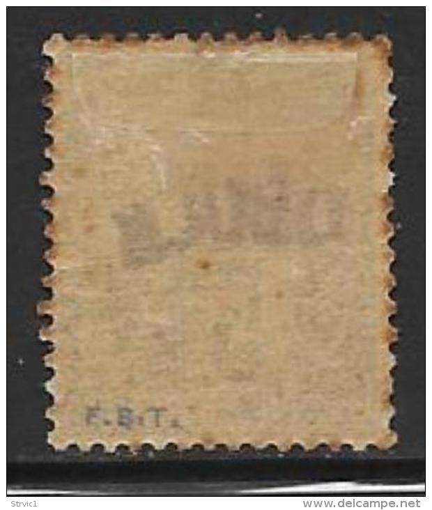 Obock, Scott # 4 Mint Hinged Fr. Colonies Stamp Overprinted, 1892 - Obock (1892-1899)