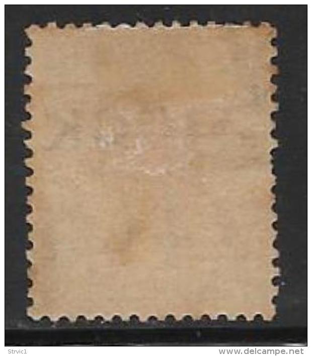 Obock, Scott # 12 Unused No Gum Fr. Colonies Stamp Overprinted, 1892 - Unused Stamps